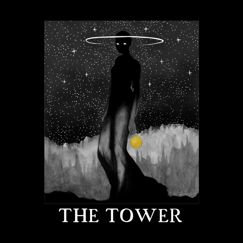 The Tower Men's T-Shirt by The Ink Maiden