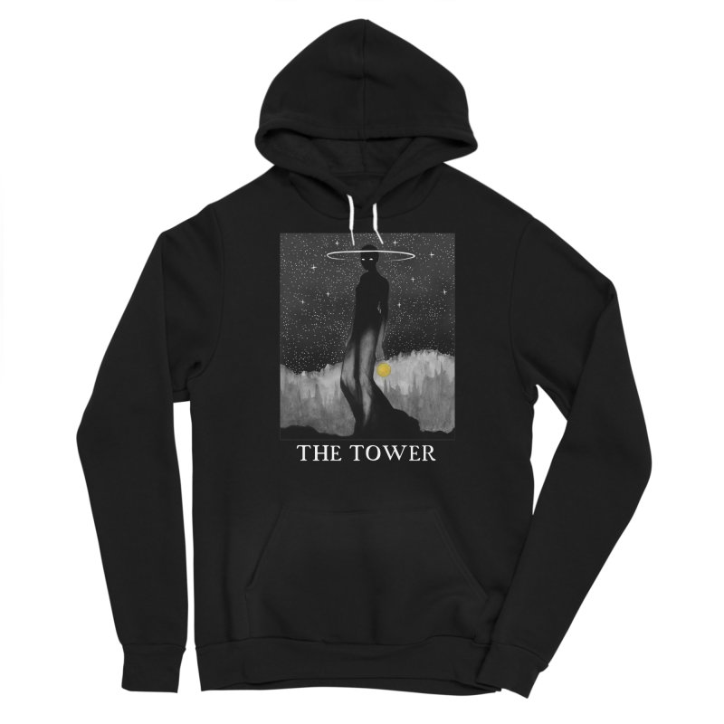 The Tower Men's Pullover Hoody by The Ink Maiden