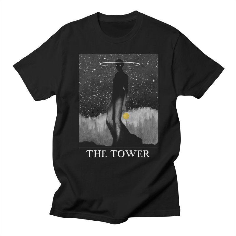 The Tower Women's Regular Unisex T-Shirt by The Ink Maiden
