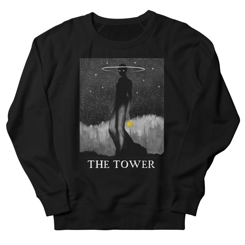 The Tower Men's French Terry Sweatshirt by The Ink Maiden