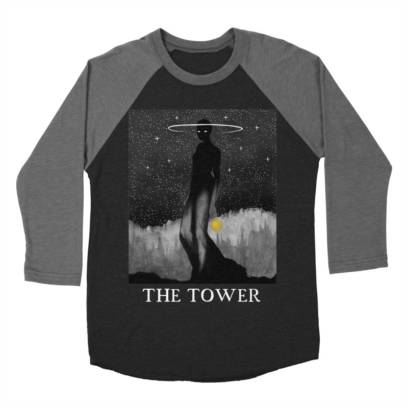 The Tower Men's Baseball Triblend Longsleeve T-Shirt by The Ink Maiden