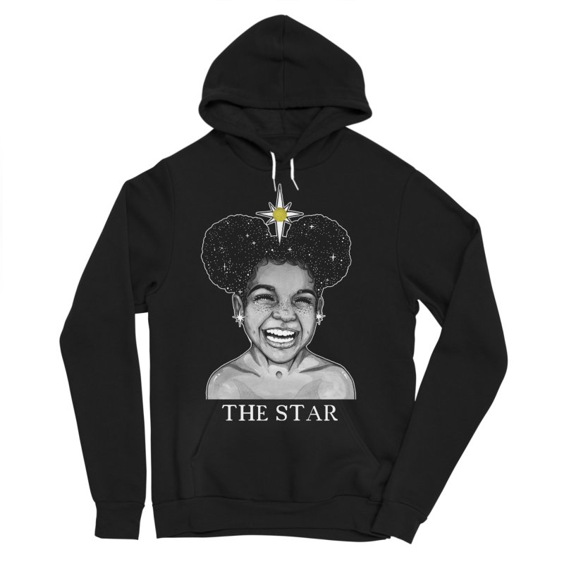 The Star Men's Sponge Fleece Pullover Hoody by The Ink Maiden