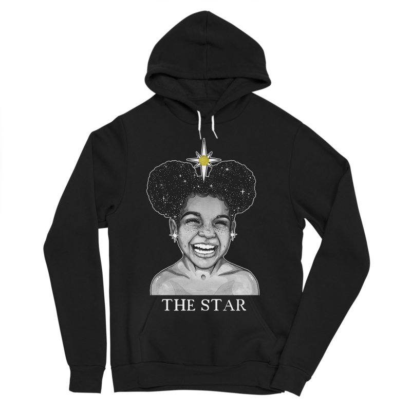 The Star Women's Sponge Fleece Pullover Hoody by The Ink Maiden
