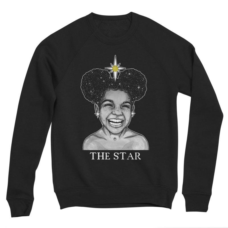 The Star Men's Sponge Fleece Sweatshirt by The Ink Maiden