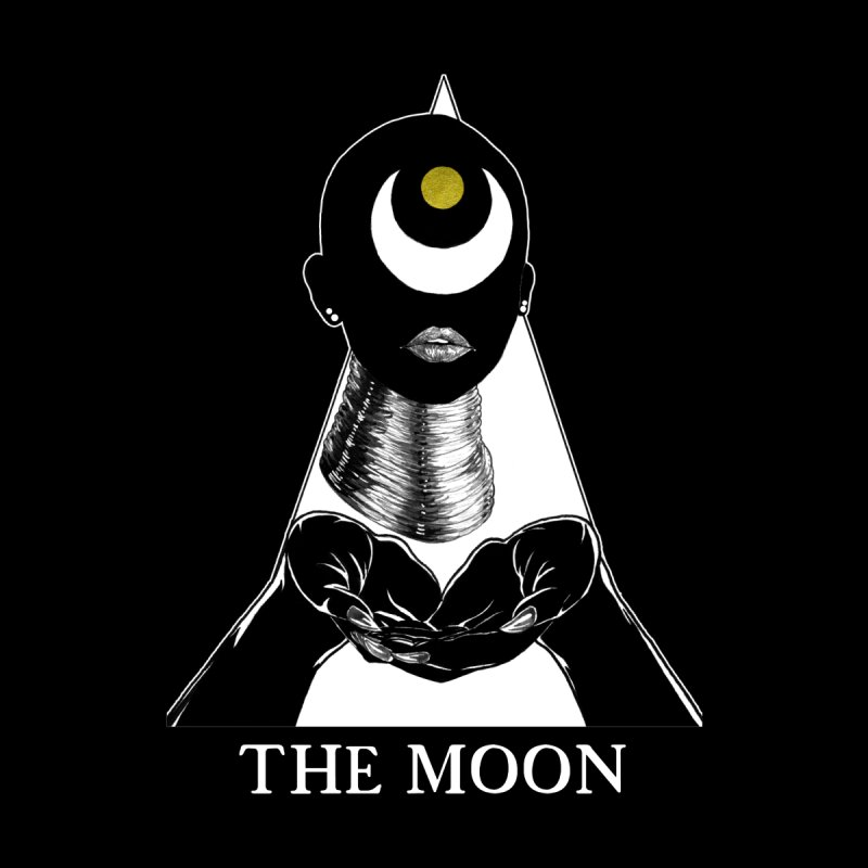 The Moon Men's T-Shirt by The Ink Maiden