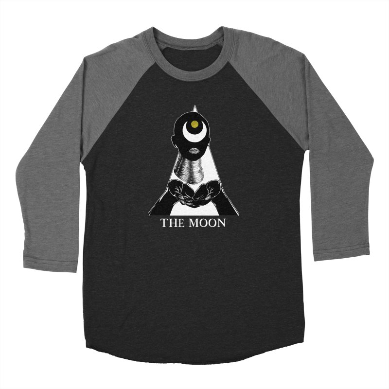 The Moon Women's Longsleeve T-Shirt by The Ink Maiden