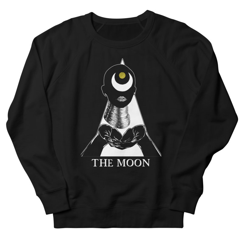 The Moon Women's French Terry Sweatshirt by The Ink Maiden
