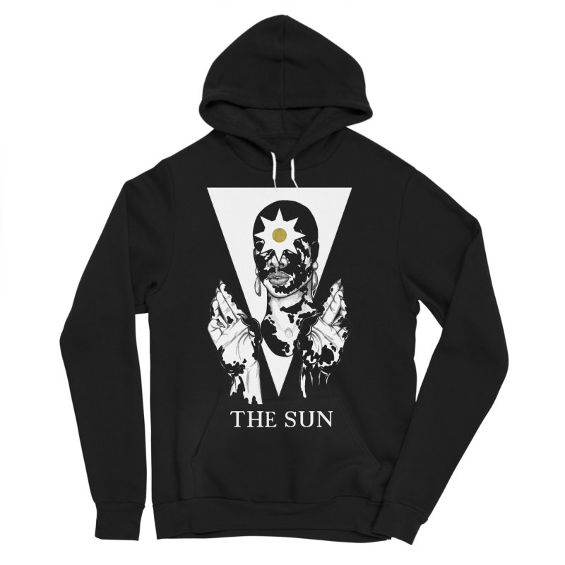 The Sun Women's Sponge Fleece Pullover Hoody by The Ink Maiden