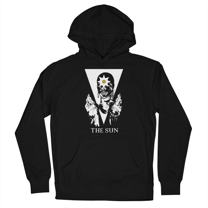 The Sun Women's Pullover Hoody by The Ink Maiden