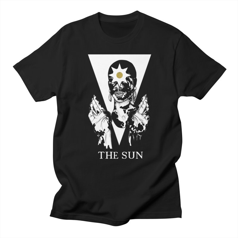 The Sun Women's Regular Unisex T-Shirt by The Ink Maiden