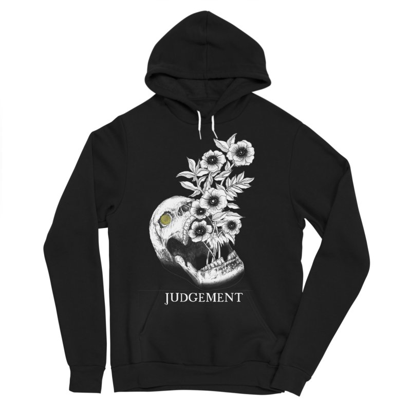 Judgement Men's Sponge Fleece Pullover Hoody by The Ink Maiden