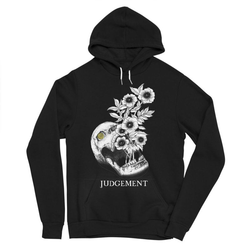 Judgement Women's Sponge Fleece Pullover Hoody by The Ink Maiden