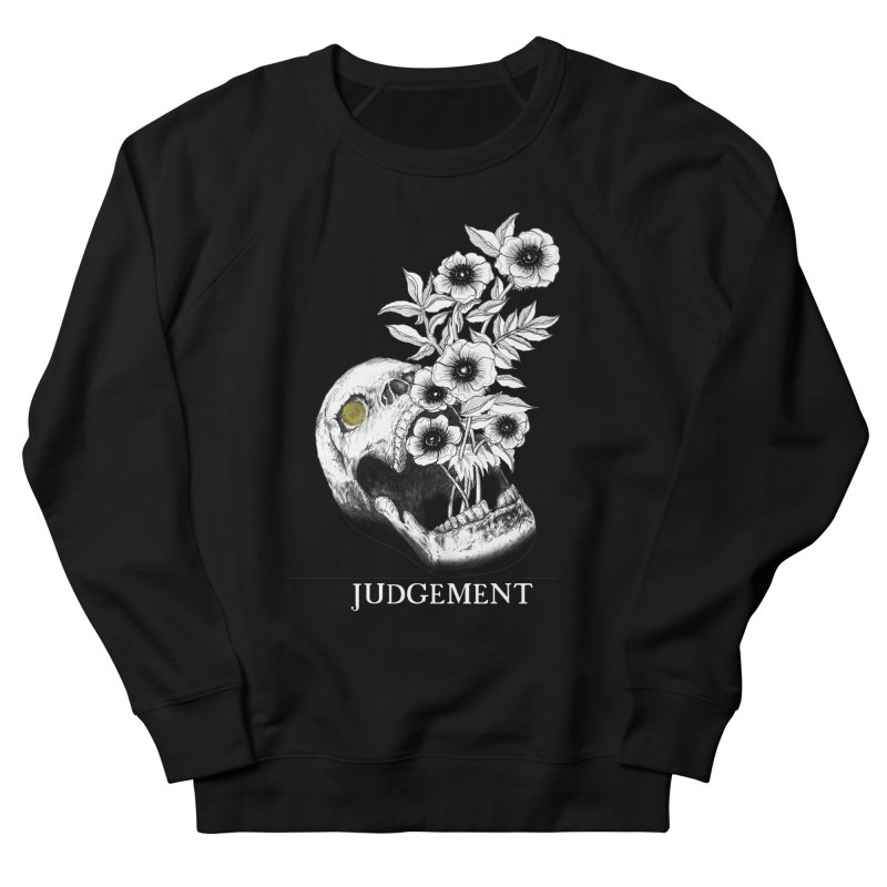 Judgement Men's French Terry Sweatshirt by The Ink Maiden