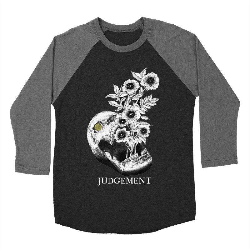 Judgement Men's Baseball Triblend Longsleeve T-Shirt by The Ink Maiden