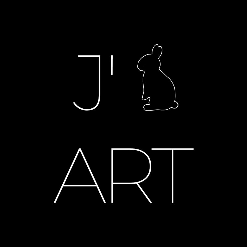 I Love Art by Jano Lapin's Bunny Boutique