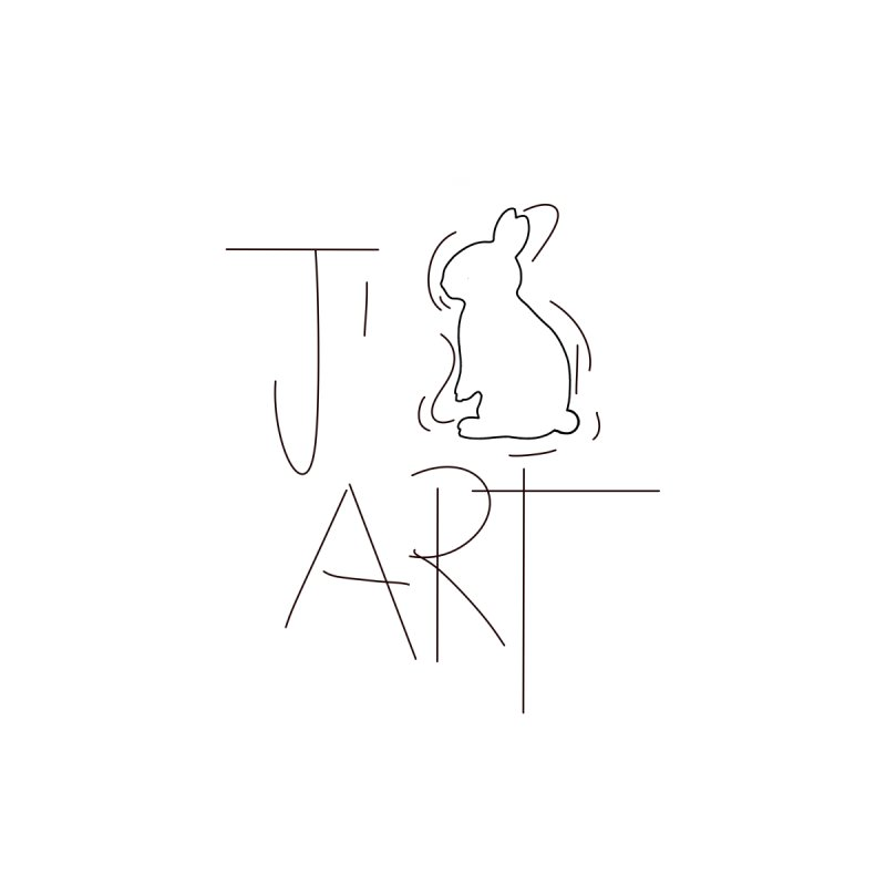 I LOVE ART by DUVAL by Jano Lapin's Bunny Boutique