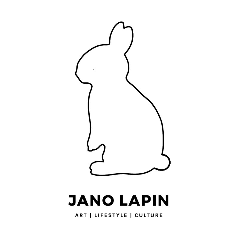 The Original Bunny. in Black. by Jano Lapin's Bunny Boutique