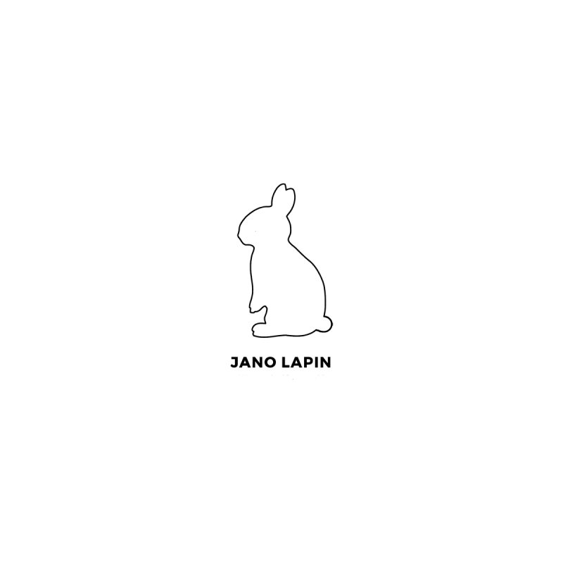 The Pocket Bunny. In Black. by Jano Lapin's Bunny Boutique