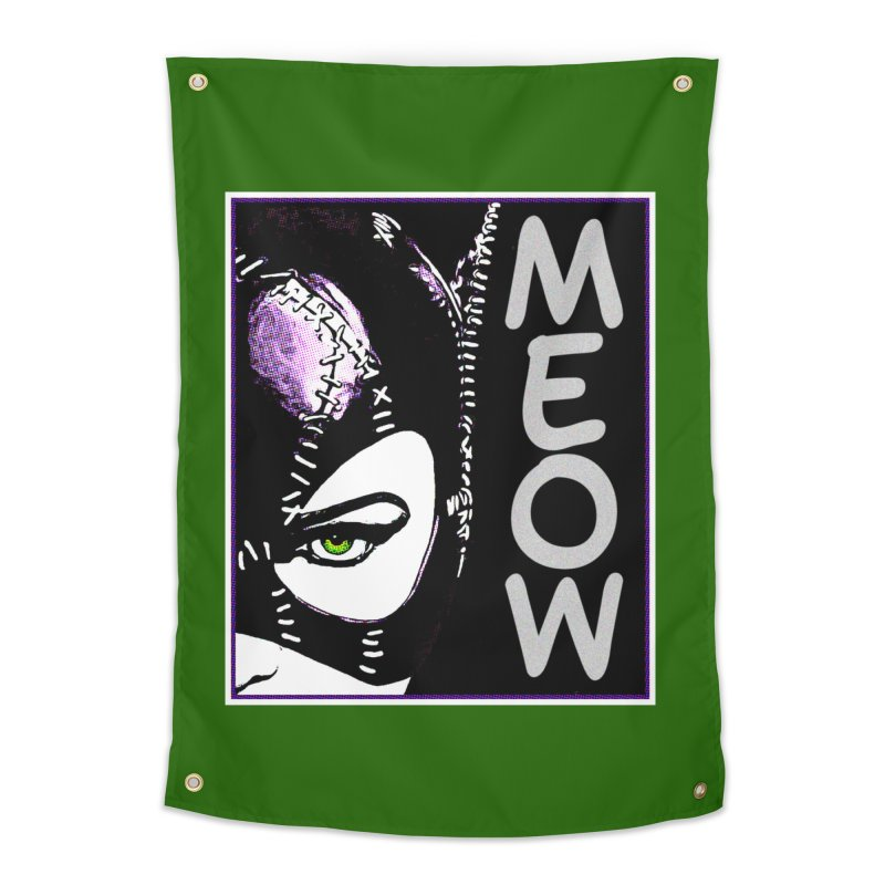 Meow Home Tapestry by Jason Lloyd Art