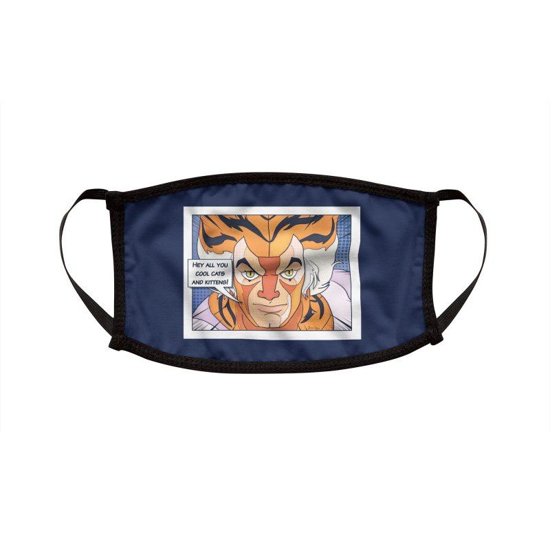 Cool Cats Accessories Face Mask by Jason Lloyd Art