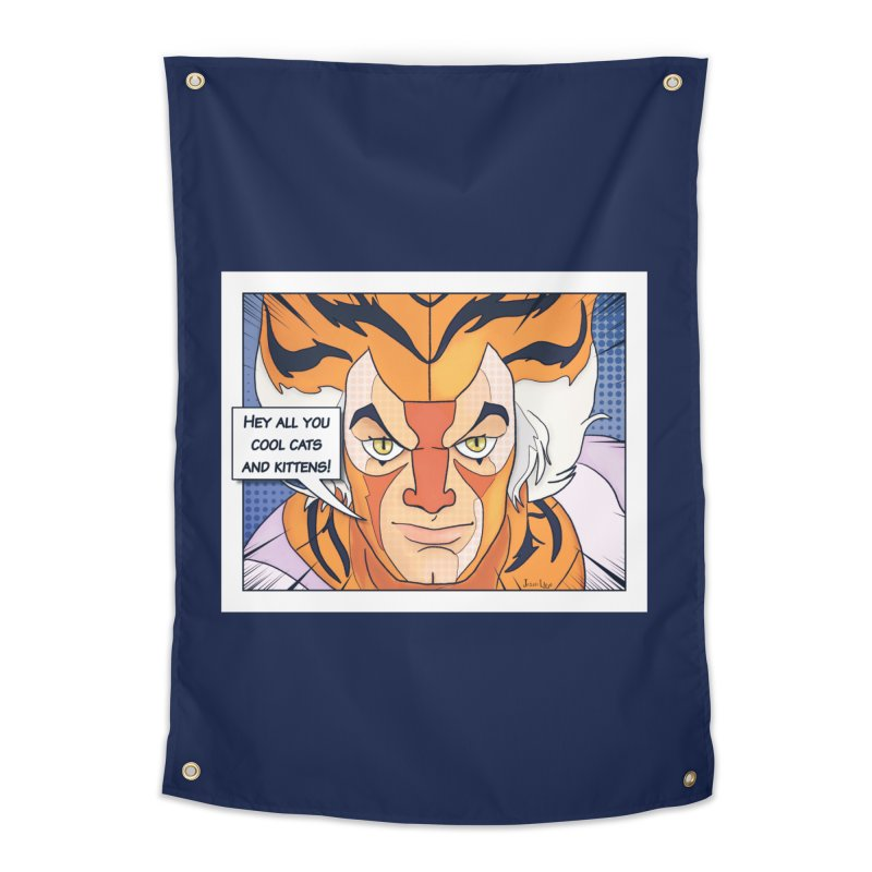 Cool Cats Home Tapestry by Jason Lloyd Art