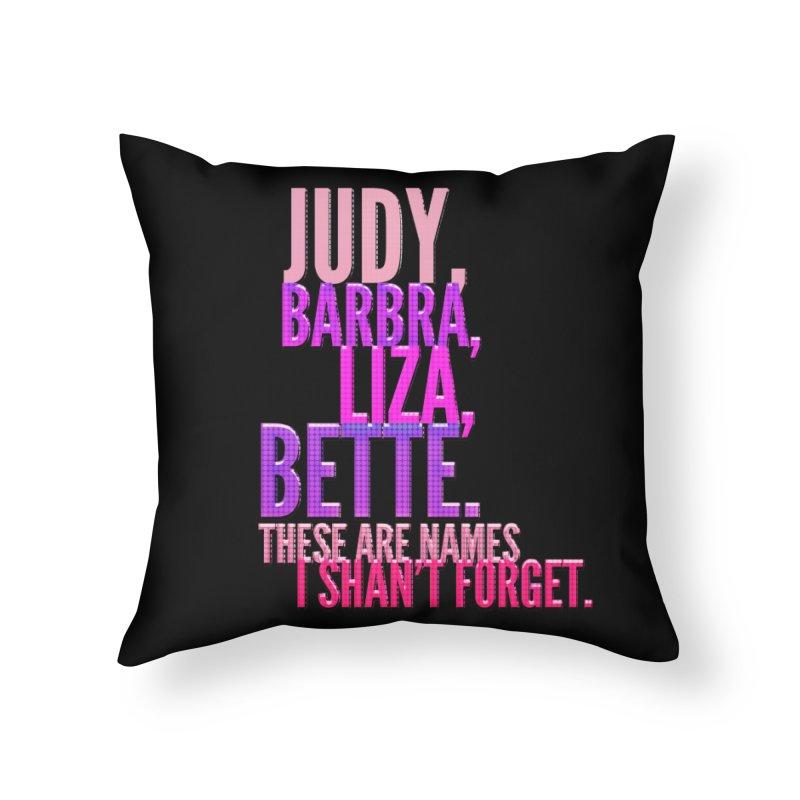 The Legends Home Throw Pillow by Jason Lloyd Art