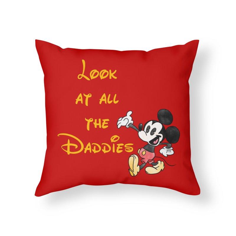 The Daddies Home Throw Pillow by Jason Lloyd Art