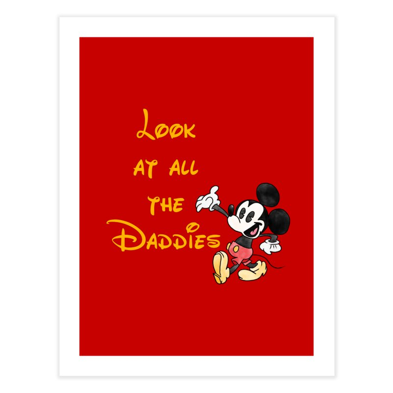 The Daddies Home Fine Art Print by Jason Lloyd Art