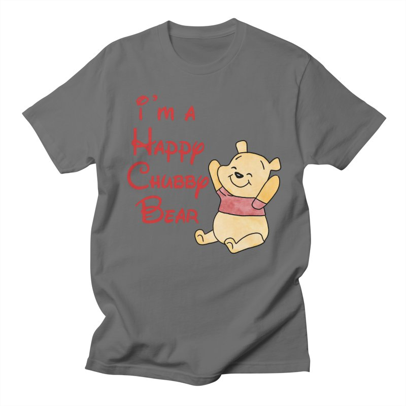 Chubby Bear Men's T-Shirt by Jason Lloyd Art