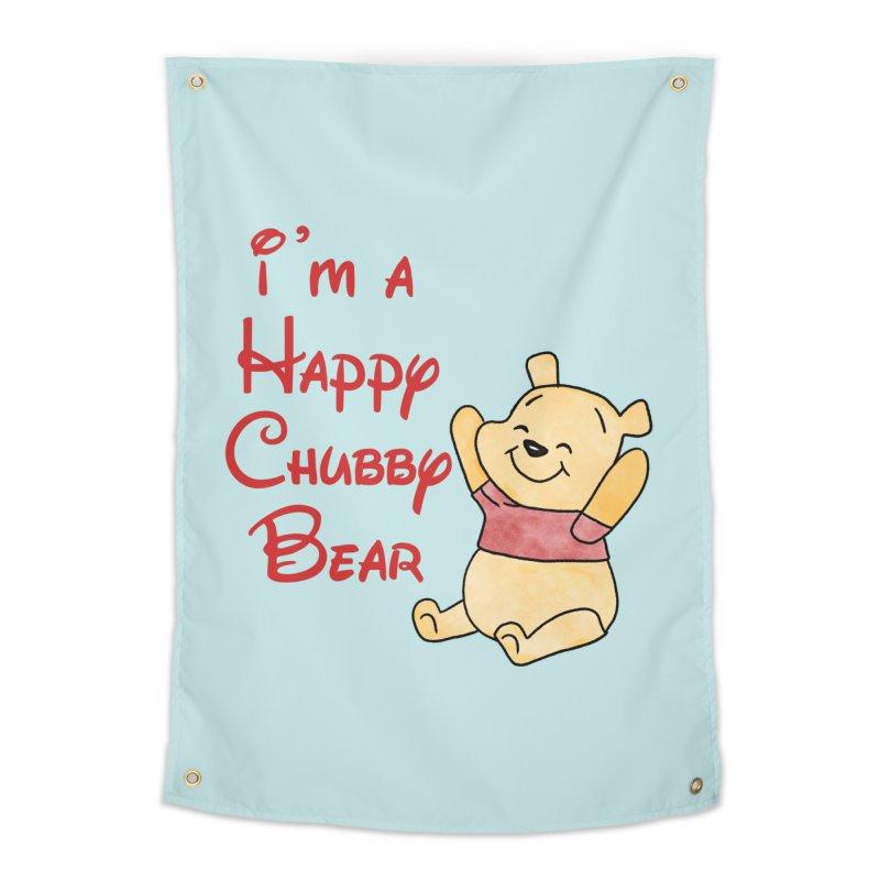 Chubby Bear Home Tapestry by Jason Lloyd Art