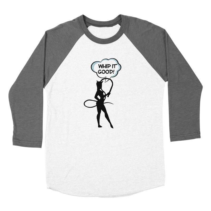 Whip It Good Women's Longsleeve T-Shirt by Jason Lloyd Art