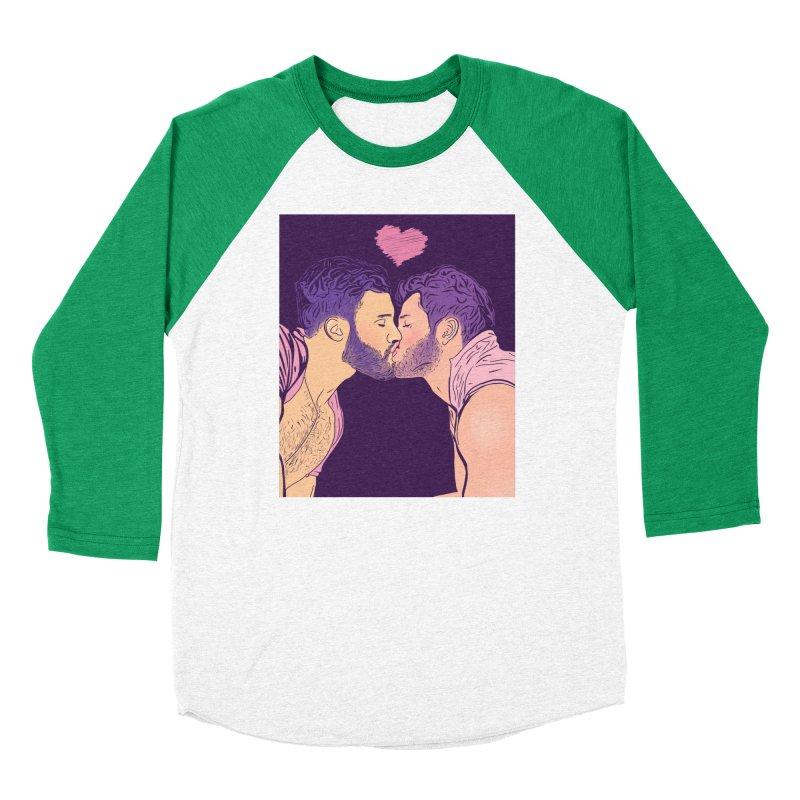 Kiss Him Men's Longsleeve T-Shirt by Jason Lloyd Art