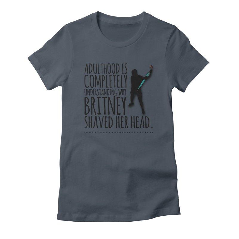 Adulthood Women's T-Shirt by Jason Lloyd Art