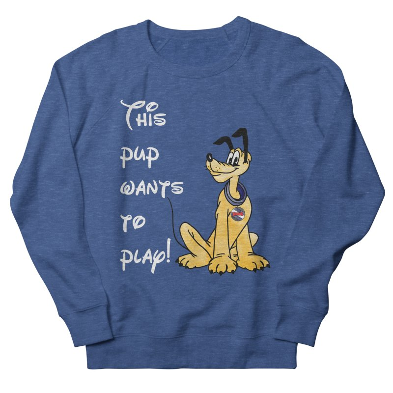 This Pup... Men's Sweatshirt by Jason Lloyd Art