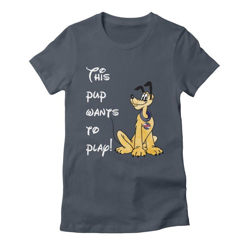 This Pup... Women's T-Shirt by Jason Lloyd Art