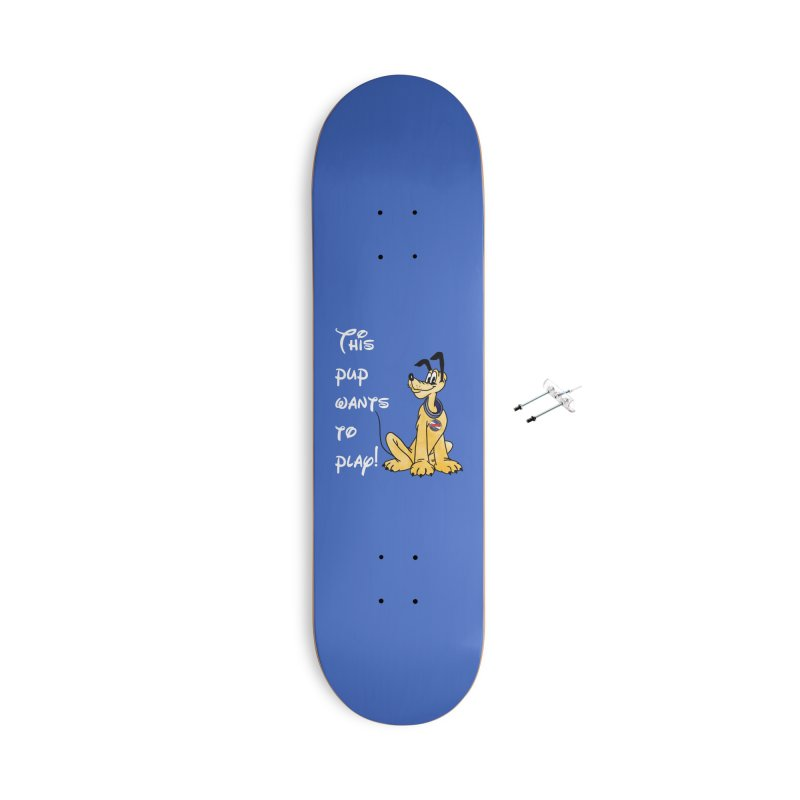 This Pup... Accessories Skateboard by Jason Lloyd Art