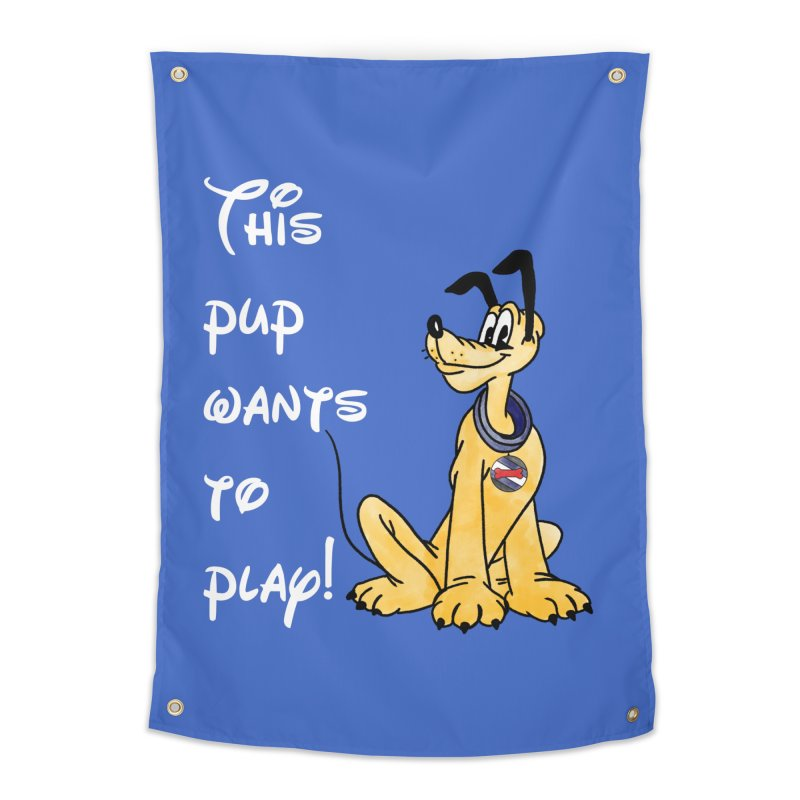 This Pup... Home Tapestry by Jason Lloyd Art
