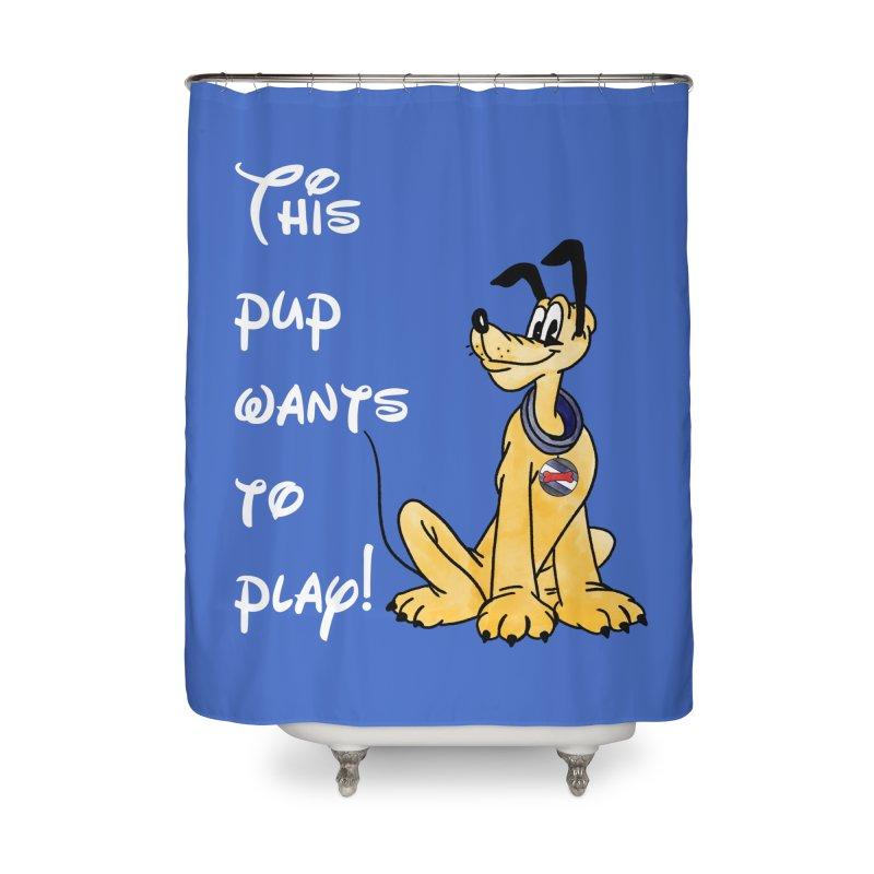 This Pup... Home Shower Curtain by Jason Lloyd Art
