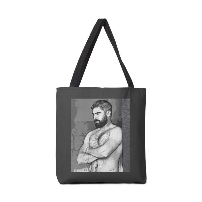Zaddy Zac Accessories Bag by Jason Lloyd Art