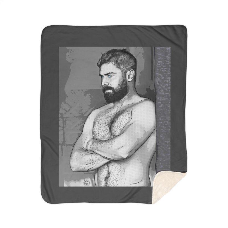 Zaddy Zac Home Blanket by Jason Lloyd Art