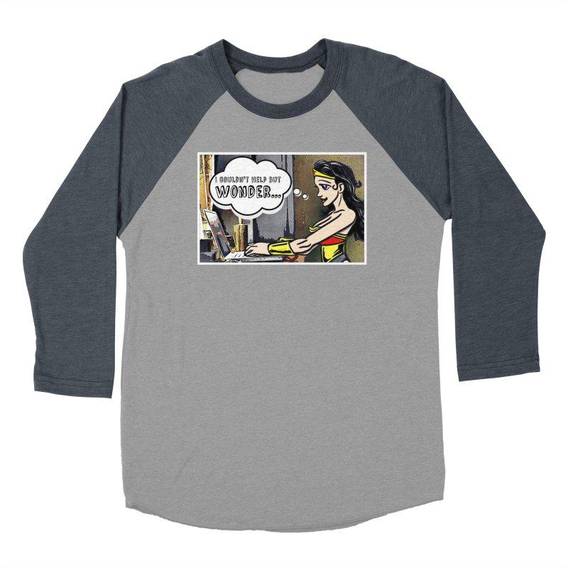 Couldn't Help But Wonder Men's Longsleeve T-Shirt by Jason Lloyd Art