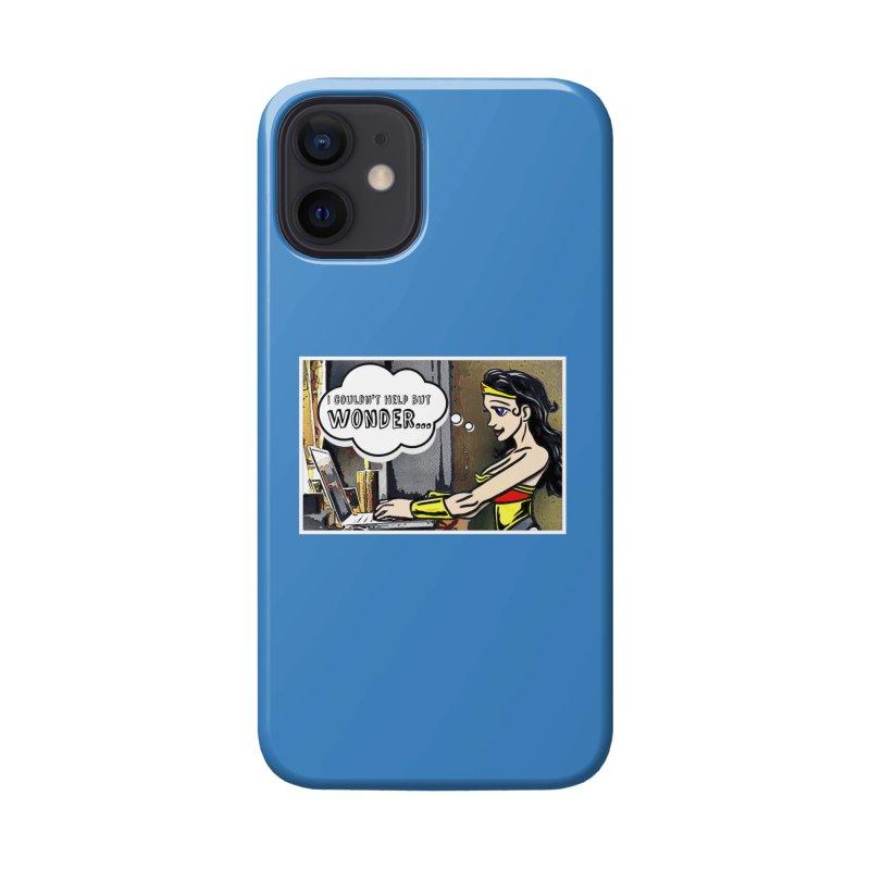 Couldn't Help But Wonder Accessories Phone Case by Jason Lloyd Art