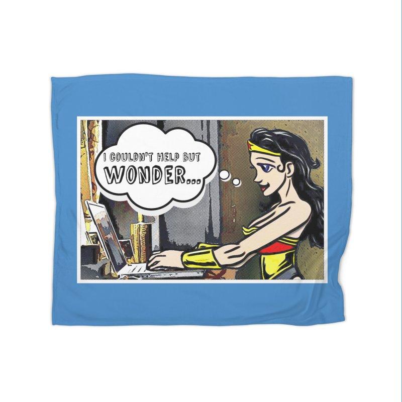 Couldn't Help But Wonder Home Blanket by Jason Lloyd Art