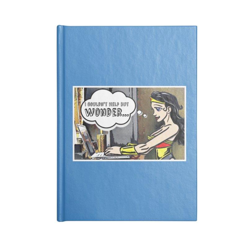 Couldn't Help But Wonder Accessories Notebook by Jason Lloyd Art