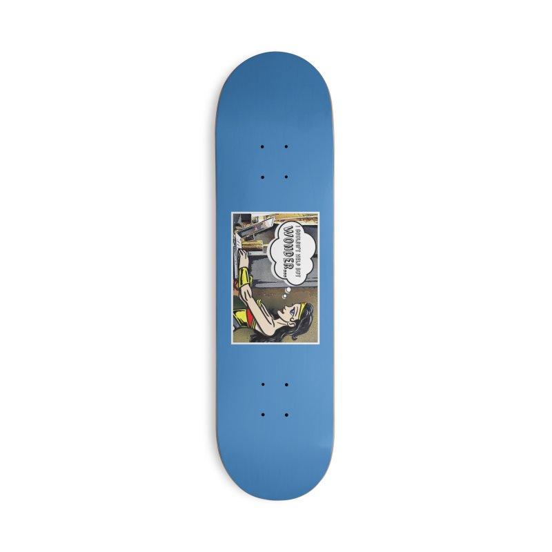 Couldn't Help But Wonder Accessories Skateboard by Jason Lloyd Art