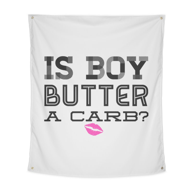 Boy Butter Home Tapestry by Jason Lloyd Art