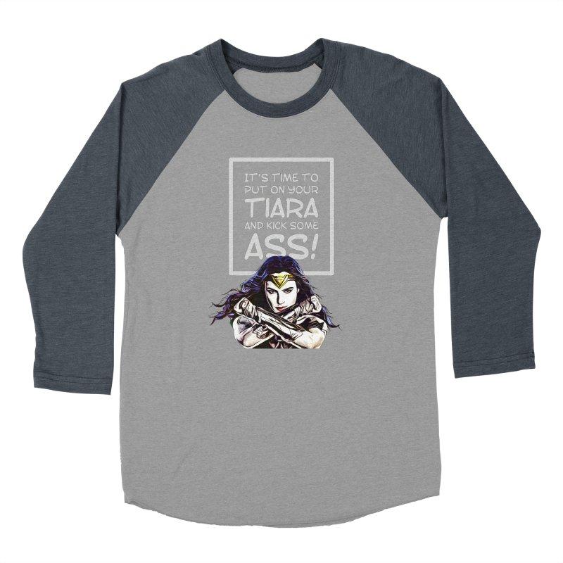 Put On Your Tiara Men's Longsleeve T-Shirt by Jason Lloyd Art