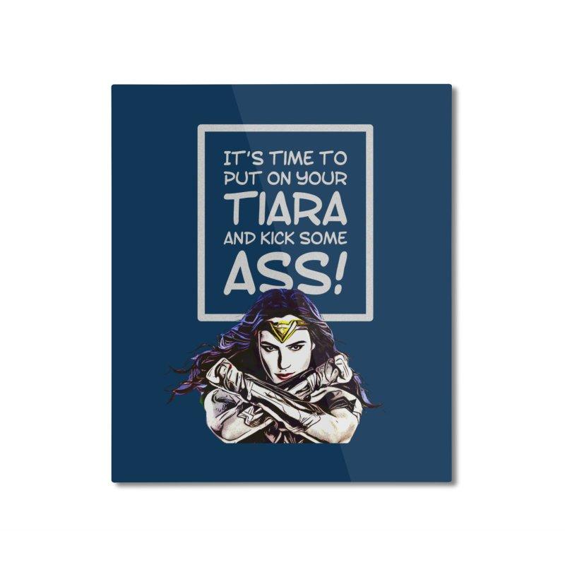 Put On Your Tiara Home Mounted Aluminum Print by Jason Lloyd Art
