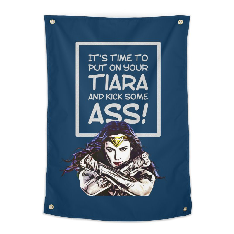 Put On Your Tiara Home Tapestry by Jason Lloyd Art
