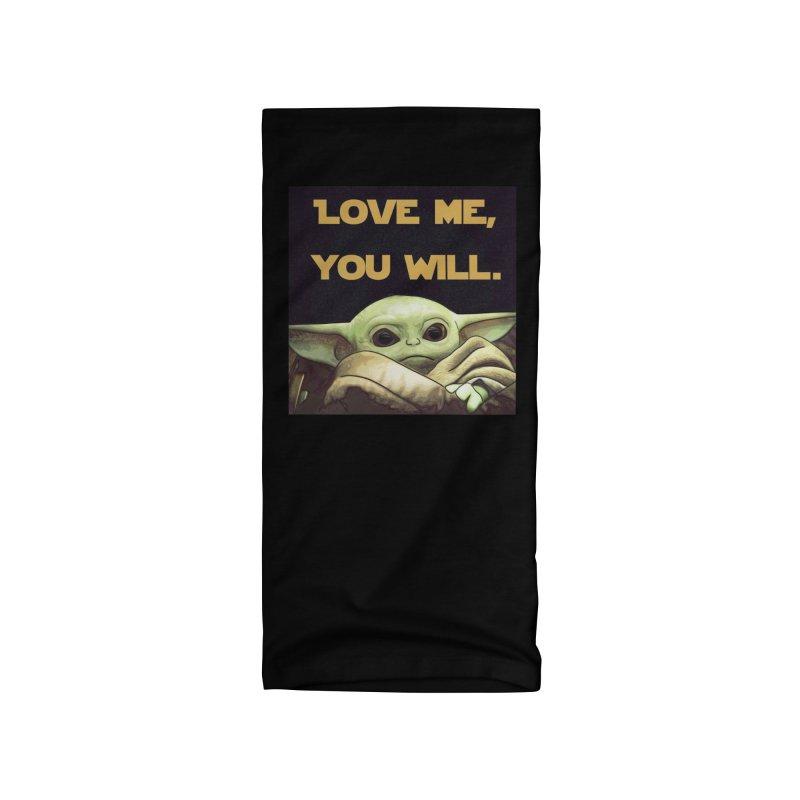 Love Me... Accessories Neck Gaiter by Jason Lloyd Art